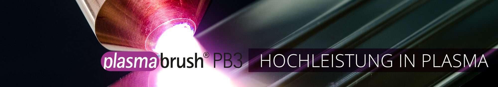 Plasmabrush PB3 High Performance Plasma Systeme