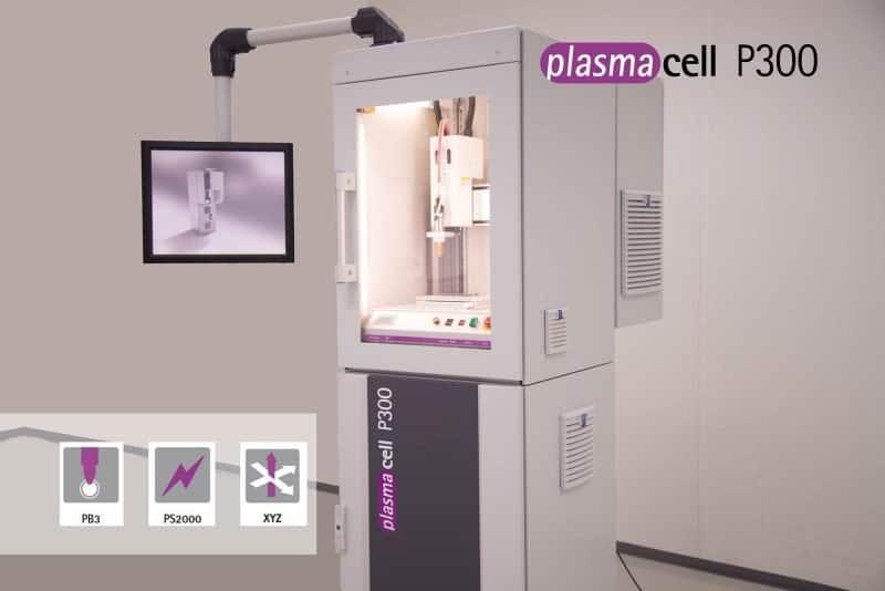 plasmacell P300 - Sistema completo de plasma para componentes pequeñas y medianas
