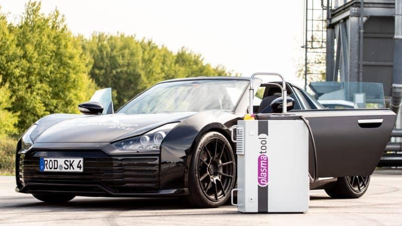 Plasmatool bei Roding Automobile – Leidenschaft verbindet