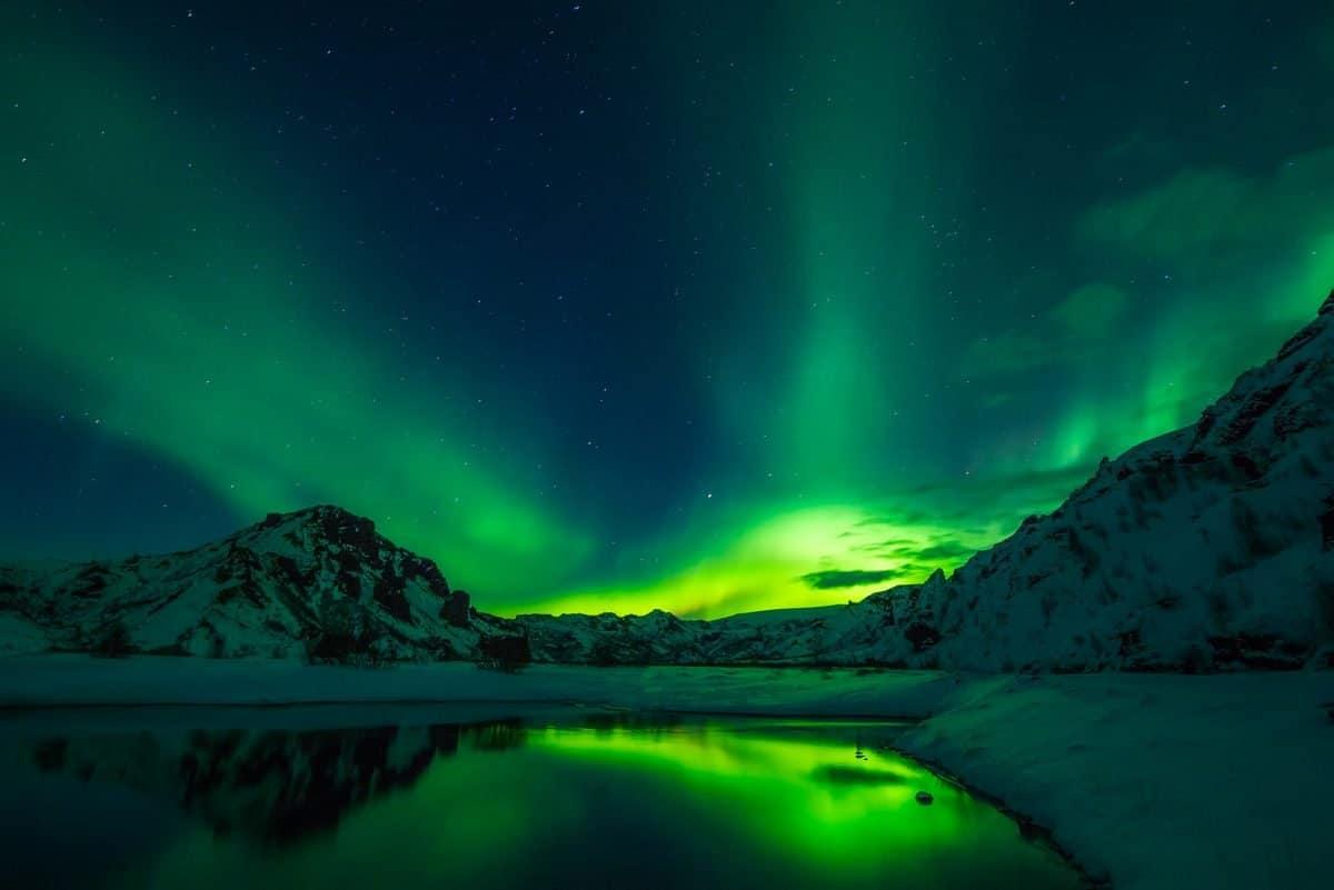 Nordlichter – ein Plasma Naturschauspiel