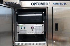 Integration des plasmabrush PB3 in ein Aerosol Jet Printing System