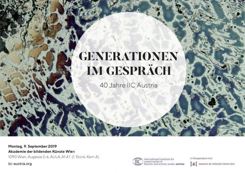 Symposium: 40 Jahre IIC Austria – Generationen im Gespräch