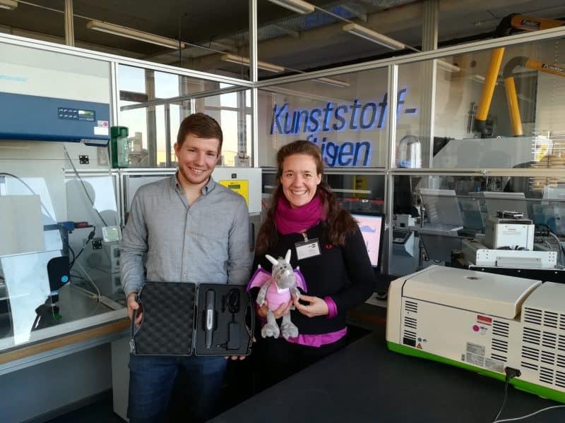 Visit to SKZ Kunststoff-Zentrum in Würzburg
