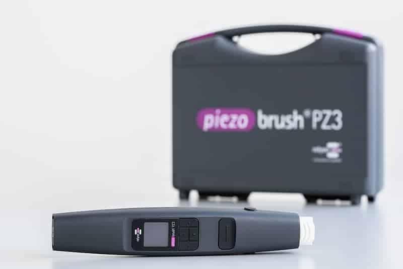 piezobrush® PZ3 mit Transportkoffer und Modulen