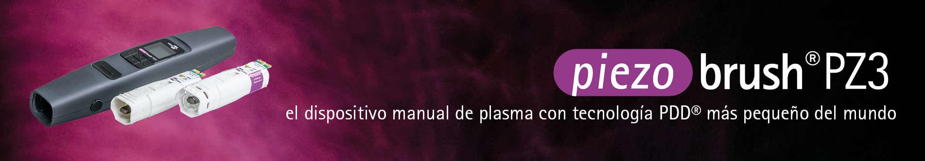 piezobrush® PZ3: el dispositivo manual de plasma con tecnología PDD® más pequeño del mundo