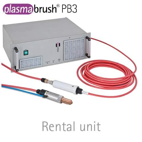 Rental unit plasmabrush® PB3